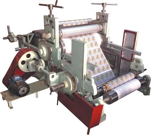 Paper Card Embossing Machine