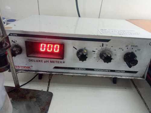 Tempreture indicator with ph meter