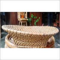 Cane Oval Fruit Basket