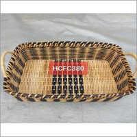 Black & Natural Bread Basket