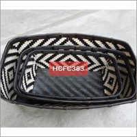 Black & White Pattern Set of Basket