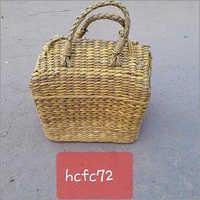 Water Hyacinth Picnic Basket