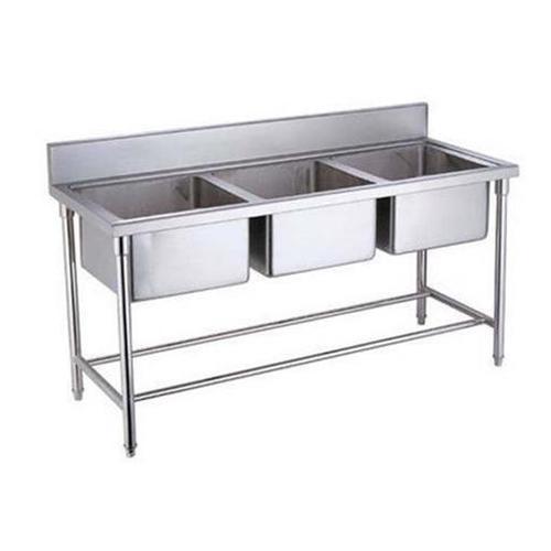 Av Sinb1650t ( Three Sink Unit With Backsplash)