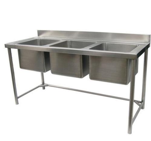 Av Sinb1800t (Three Sink Unit With Backsplash)