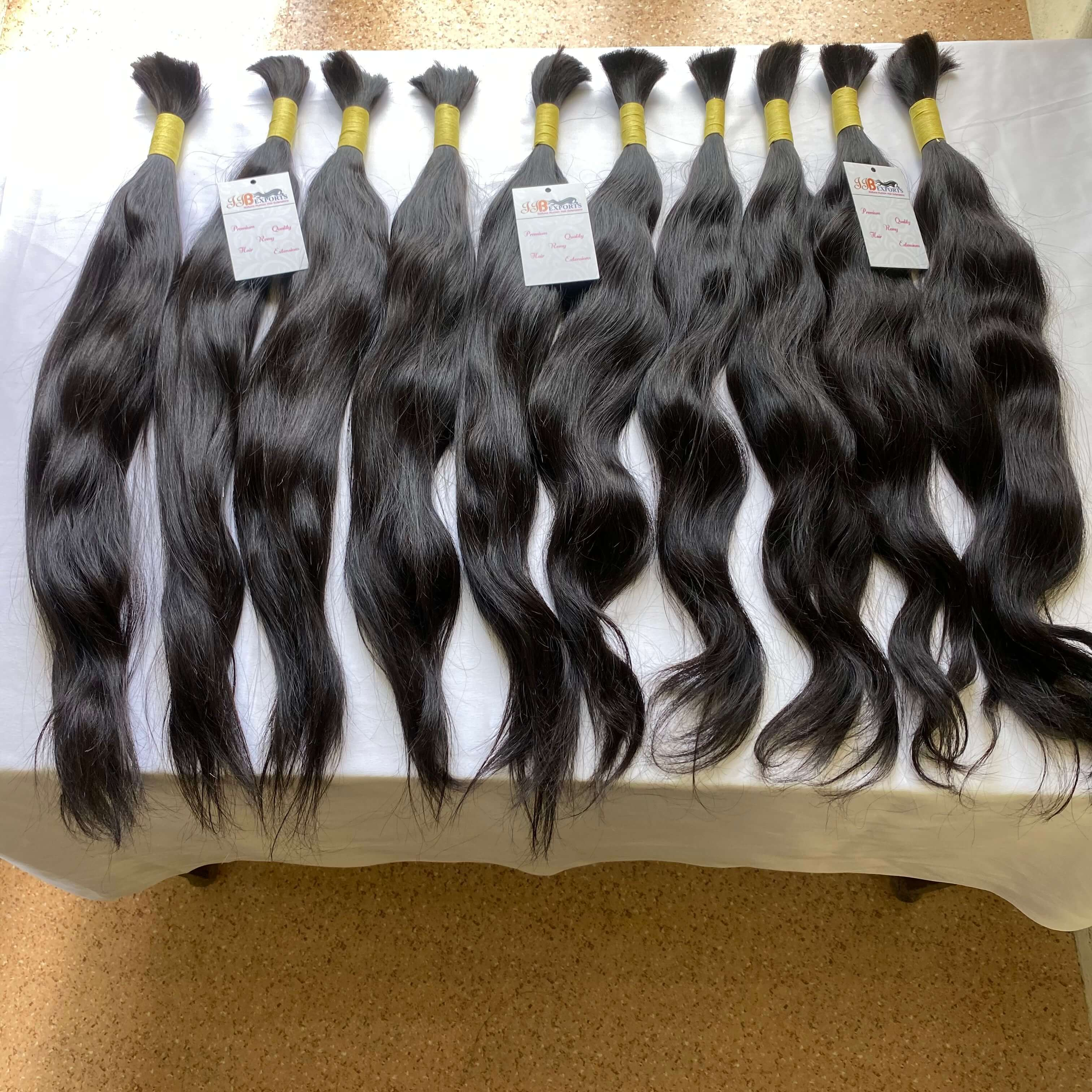 Factory Price Top Quality Wholesale Indian Raw Virgin Bulk Hair Curly/straight/wavy Human Hair