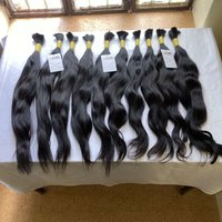 Cuticle Aligned High Quality Raw Virgin Remy Human Bulk Hair Extensions