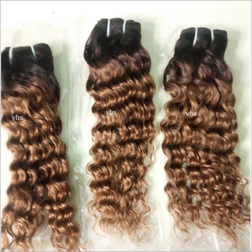 Blonde Human Hairs