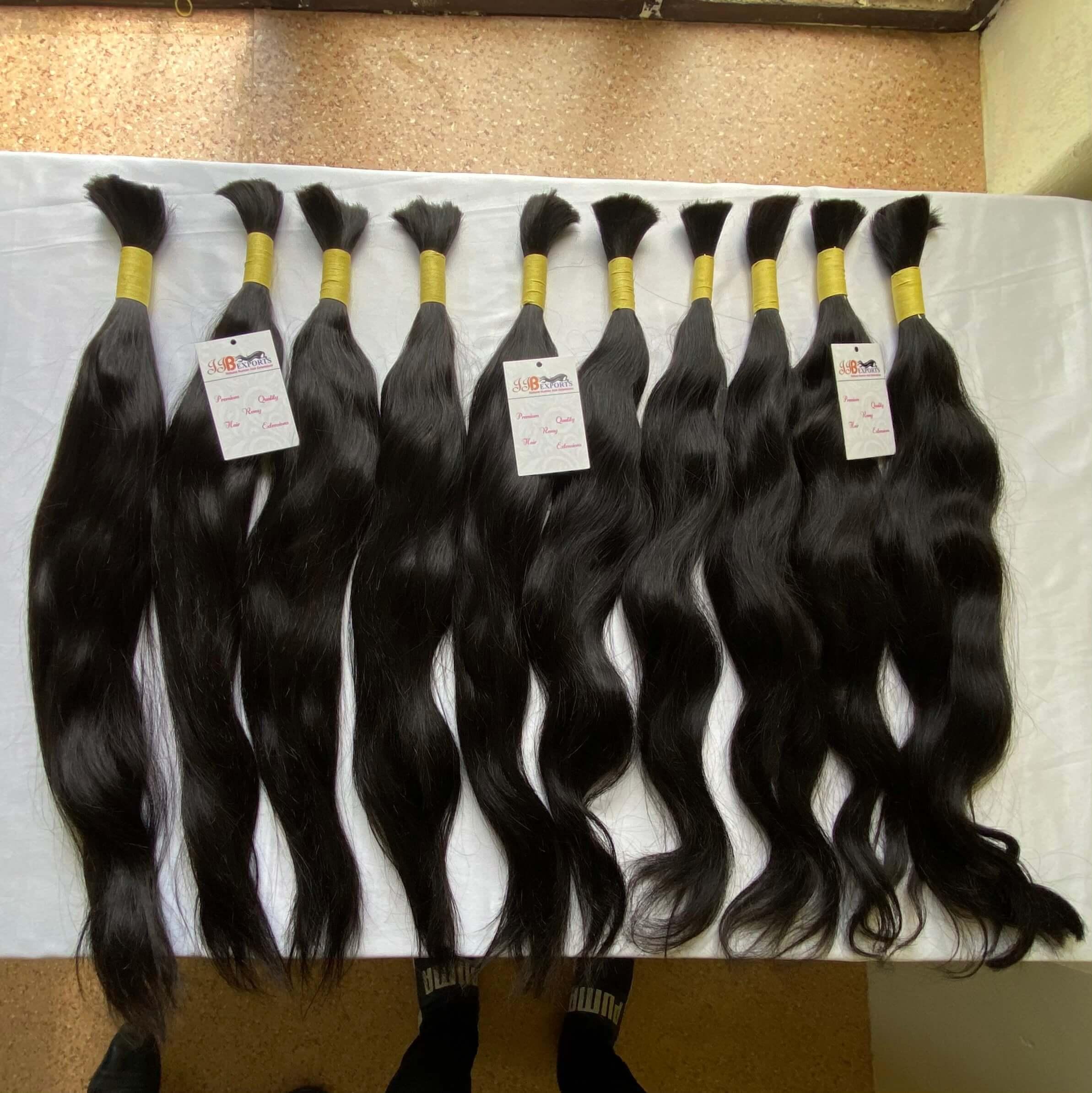 Wholesale Price Indian/brazilian Virgin Remy Bulk Human Hair