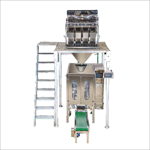 4 Head Linear Weigher with Pneumatic Bagger
