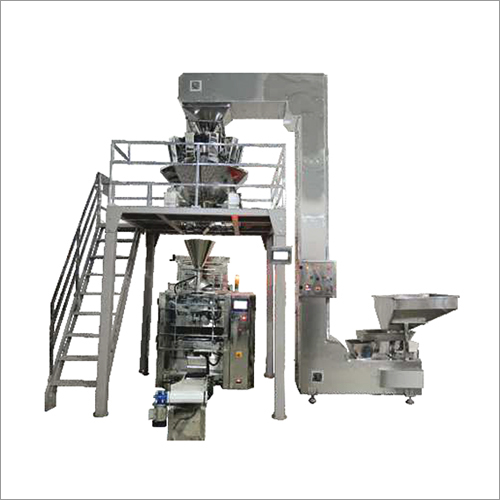 14 Head Weigher with Servo Bagger