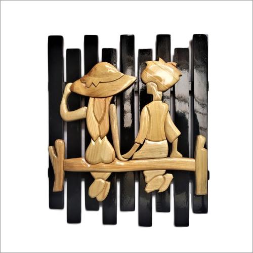 Wood Handmade Wooden Wall Art