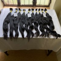 Best Quality Indian Unprocessed Raw Cuticle Aligned Remy Human Bulk Hair