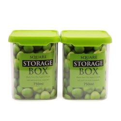 750 ML CONTAINER SET OF 2 PC