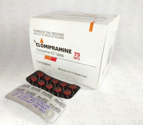 Clomipramine Tablets Certifications: Iso/Gmp/C-Gmp/Whogmp/Usfda/Eup