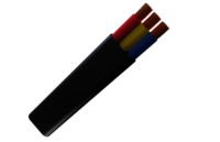 Rubber Flat Drop Cable