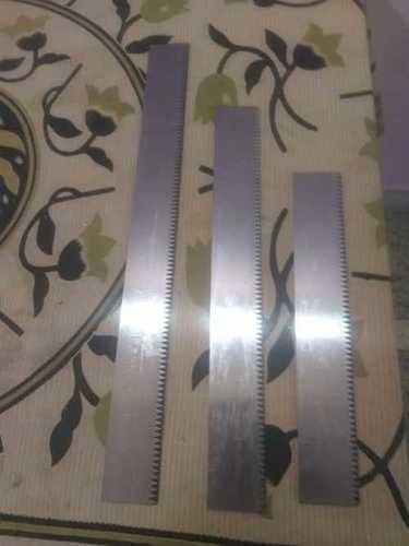 Swatch cutter blade