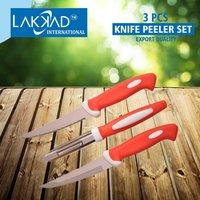 Knife Peeler Set  3 Pcs