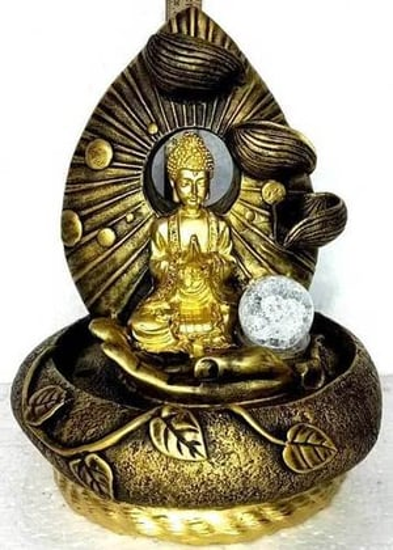 Resin Buddha Fountain