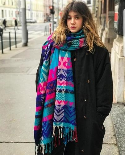 Acrylic Woolen Shawls
