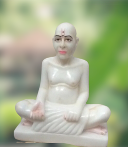 Marble Gajanan Statue