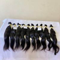 100% Remy Single Donor Virgin Bulk Hair Wholesale Price