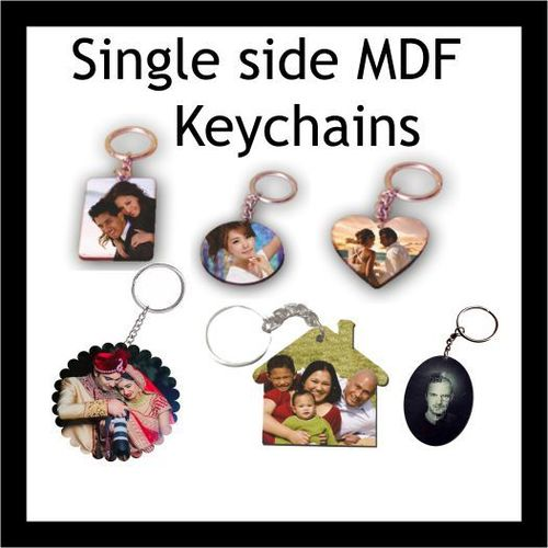 Sublimation Blank Wooden Keychains