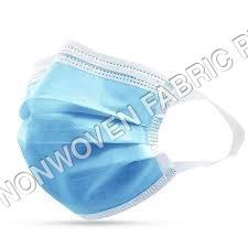 Flat Earloop 3 ply Mask