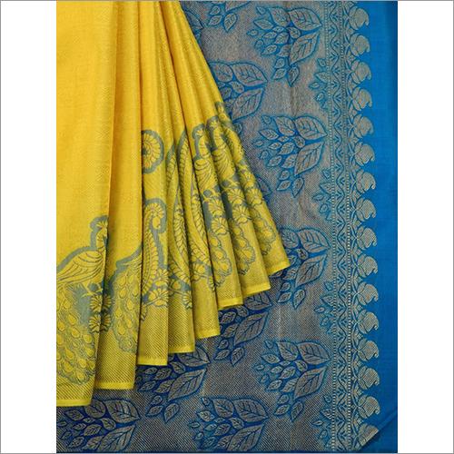Goddess Pure Kanchipuram Silk Saree