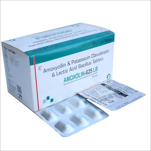 Amoxycillin & Potassium Clavulanate & Lactic Acid Bacillus Tablets