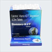 Calcitriol Vitamin K2-7 Magnesium & Zinc Tablets