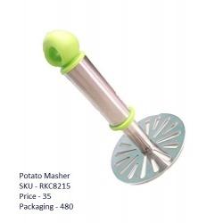 Stainless Steel Potato Pav Bhaji Masher