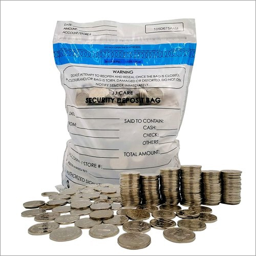 Currency Security LDPE Bag