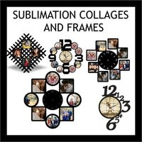 SUBLIMATION BLANK COLLAGES AND FRAMES