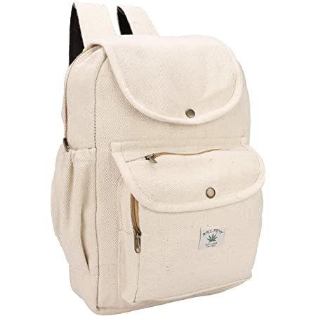 Natural Handmade Large Multi Pocket Backpack