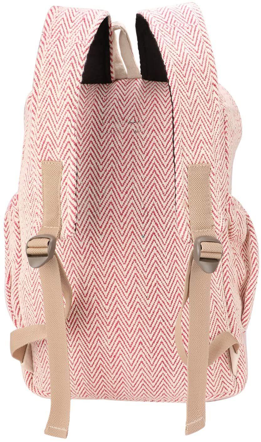 Backpack Handmade Nepal With Laptop Sleeve