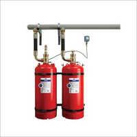Mild Steel Gas Fire Suppression System