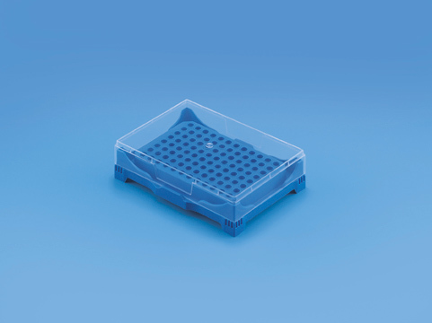 TARSONS 241000 PCR Rack with Cover