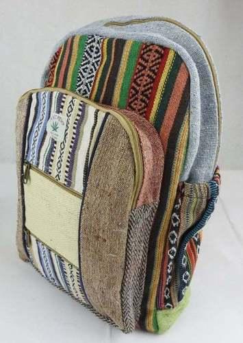 Handmade Natural  Backpack