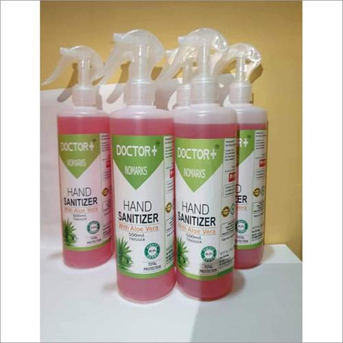 500 Ml Trigger With Aloe Vera Hand Sanitizer