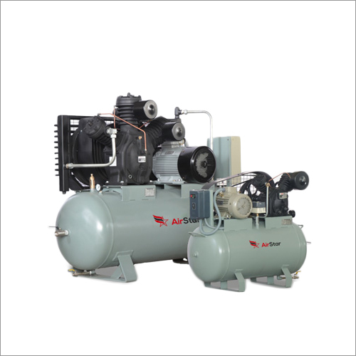 Reciprocating Compressor With Electrical And Tank