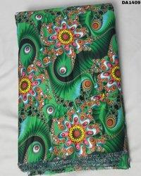 Digital Prints Micro Mini Sartin Silk Fabric