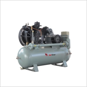 High Pressure Compressor With Electrical And Tank