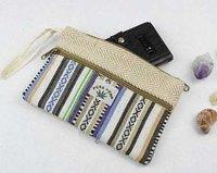 Handmade Hand Wallet With Zipper