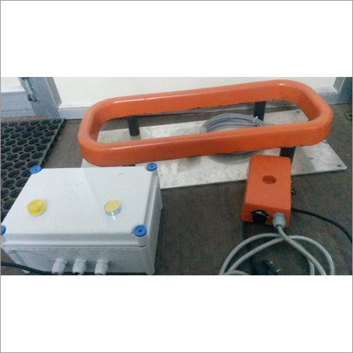 Orange Coil Metal Detector For Stone Crusher