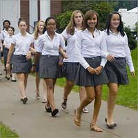 School Uniform Skirt Fabric