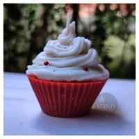 Cupcake Candle-Multi Color