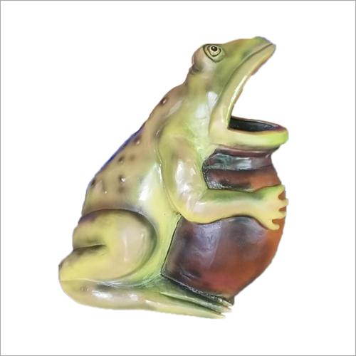 Fiberglass Frog Dustbin