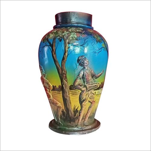 Multicolor Terracotta Flower Vase