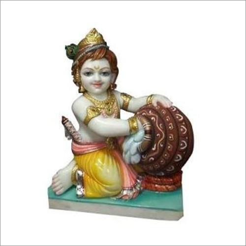 Marble Laddu Gopal Statue