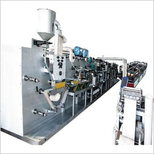 Fully Automatic Baby Diaper Making Machine